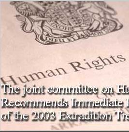 gary mckinnon - joint committee on human rights reccommends immediate re negotiation of treaty